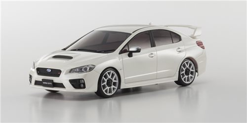 BODY SHELL ONLY Mini-Z SUBARU WRX STI WHITE + 4WD WHEELS