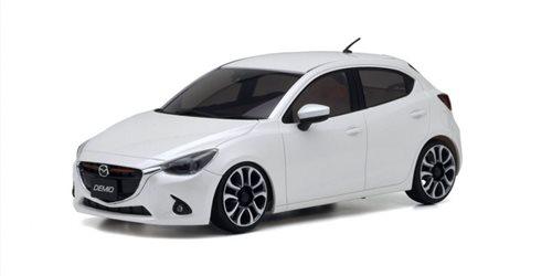 BODY SHELL ONLY Mini-Z MAZDA DEMIO XD TOURING WHITE PEARL + 4WD WHEEL