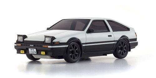 Autoscale Mini-Z Toyota Trueno AE86 Initial-D White (MA020)
