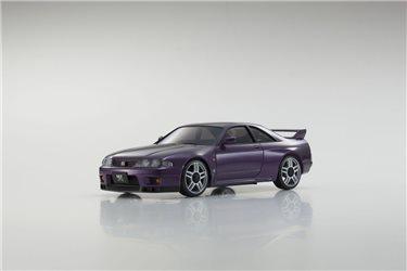 AUTOSCALE Mini-Z NISSAN SKYLINE GTR R33 V-SPEC PURPLE MA020