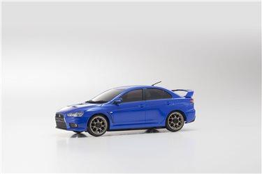 AUTOSCALE Mini-Z MITSUBISHI LANCER EVO X BLUE MA020