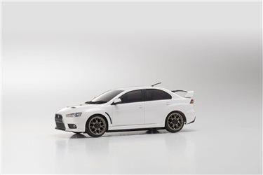 AUTOSCALE Mini-Z MITSUBISHI LANCER EVO X PEARL WHITE MA020