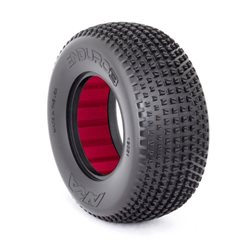 SHORT COURSE TYRES 1:10 ENDURO 3 LARGE SOFT (2) WITH INSERTS
