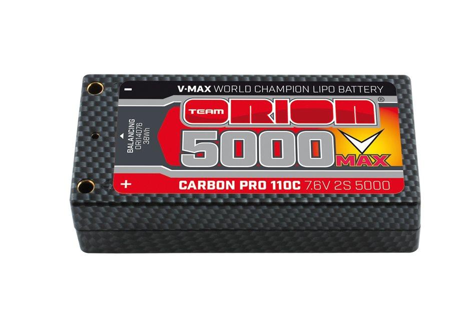 CARBON PRO SHORTY V-MAX 5000-110C (7.6V) - TUBES (220g)