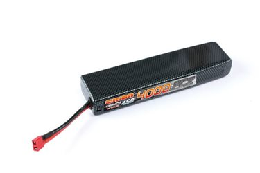 CARBON FLX 4000-45C (7.4V) LIPO BATTERY / DEANS PLUG