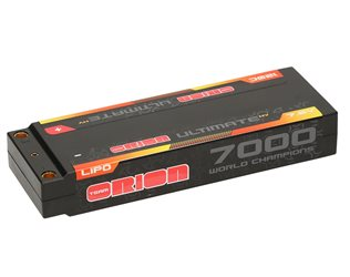 ULTIMATE GRAPHENE HV 2S LIPO 7000-120C-7.6V (284g) - 5MM