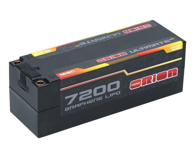 ULTIMATE GRAPHENE HV 4S LIPO 7200-120C-15.2V (593g) - 5MM