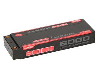 ULTIMATE GRAPHENE 2S LIPO 6000-120C-7.4V (264g) - 5MM