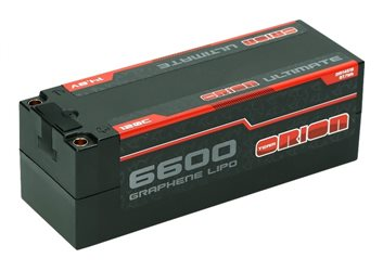 ULTIMATE GRAPHENE 4S LIPO 6600-120C-14.8V (577g) - 5MM