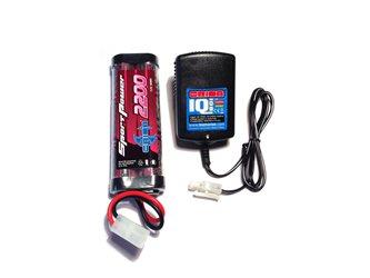 COMBO CHARGER IQ801-2200 (ORI30197+ORI10325E) EU-TAMIYA