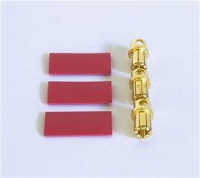 GOLD MALE PLUG 8MM (3)