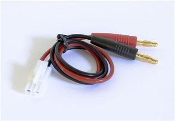 CHARGE CABLE TAMYIA/BANANA PLUG
