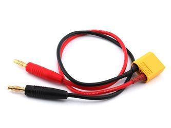 CHARGE CABLE XT90 (16AWG/30cm)