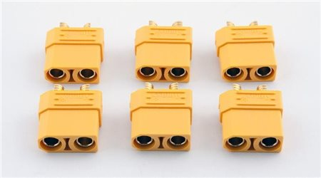 XT90 CONNECTORS - FEMALE (6)