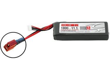 ORION LIPO LED 3S-1800-11.1V-50C -L108xW35xH23.5/147g- DEANS