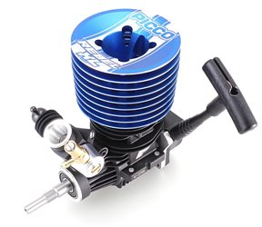 Picco REBEL XL Buggy and Truggy engine with Pullstart