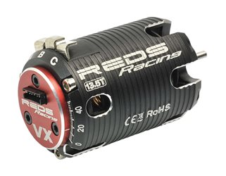 Brushless motor REDS VX 540 21.5T Torque2 poles sensored