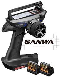 Sanwa MT-44 PC Combo + 2 Receivers RX482