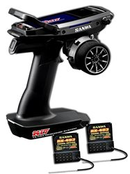 Sanwa M17 + 2x Receiver RX493 + TX Battery