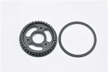 PULLEY SOLID AXLE 38T