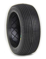 1:8 BUGGY TYRES DOUBLE DOWN SUPERSOFT (1) (NO INSERTS) BULK