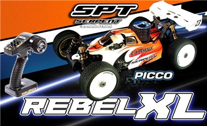 SERPENT COBRA BUGGY B-GP 1/8 RTR+PICCO REBEL