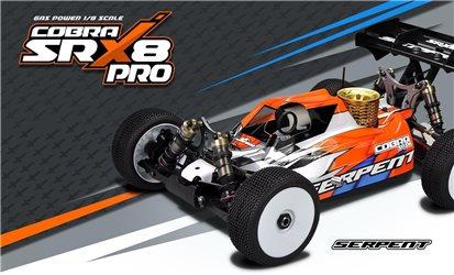 Serpent Cobra SRX8 Pro buggy GP 1/8 4WD