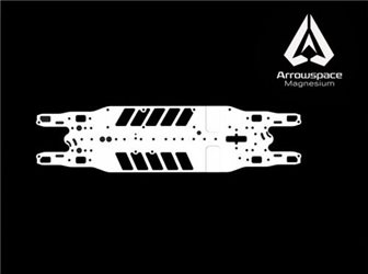 Serpent 4X Chassis Arrowspace Mg Extra Flex