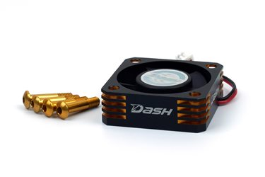 DASH ULTRA HIGH SPEED ESC COOLING FAN BLACK GOLDEN