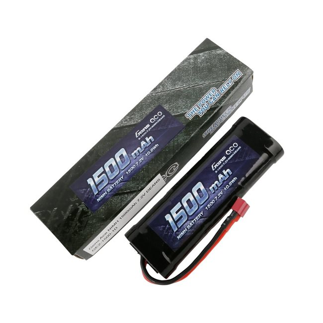 Gens ace Battery NiMh 7.2V-1500Mah (Deans) 135x48x25mm 242g