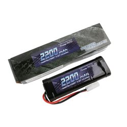 Gens ace Battery NiMh 7.2V-2200Mah (Tamiya) 135x48x25mm 290g