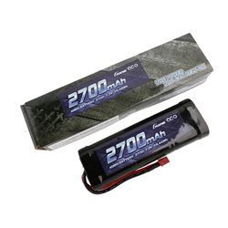 Gens ace Battery NiMh 7.2V-2700Mah (Deans) 135x48x25mm 315g