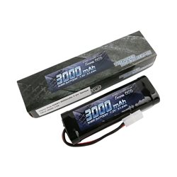 Gens ace Battery NiMh 7.2V-3000Mah (Tamiya) 135x48x25mm 350g