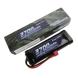Gens ace Battery NiMh 7.2V-3700Mah (Deans) 135x48x25mm 365g