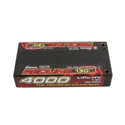 Gens ace Battery LiPo 2S HV 7.6V-130C-4000 (4mm) 97x48x16mm 125g