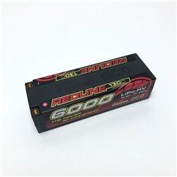 Gens ace Battery LiPo 4S HV 15.2V-130C-6000 (5mm) 139x47x37mm 450g