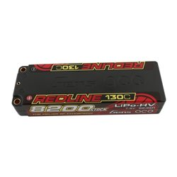 Gens ace Battery LiPo 2S HV 7.6V-8200-130C(5mm) 139x47x26mm 300g