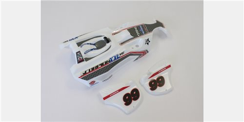 BODY SHELL SCORPION XXL VE - T1/WHITE