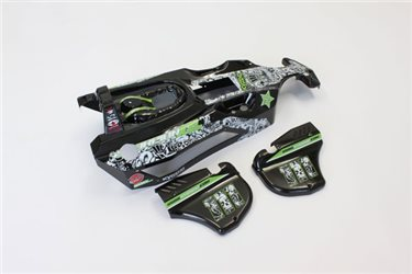 BODY SHELL SCORPION XXL GP - T2/BLACK