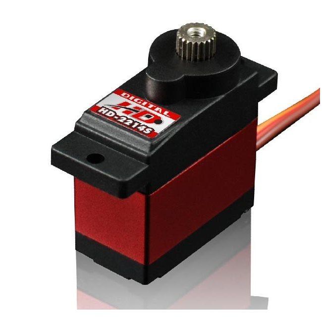 SERVO HD2214MG MG DIGITAL TAIL SERVO (1.2KG/0.06 SEC)*