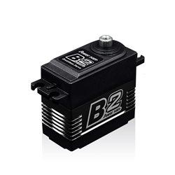 SERVO B2 BRUSHLESS  RADIATEUR ALU 6/7.4V (35 KG/0.14 SEC)