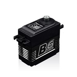SERVO B6 BRUSHLESS  RADIATEUR ALU 6/7.4V (9 KG/0.0,038 SEC)