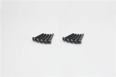 BIND HEAD 4X20MM METALLIC SCREWS (10)